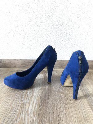 Blaue Pumps Gr.37