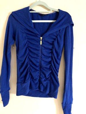 Blaue Shirt Jacke