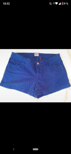 Blaue Shorts 36