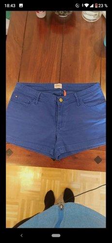 Blaue Shorts Gr. 36