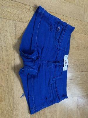 Blaue Shorts von Hollister