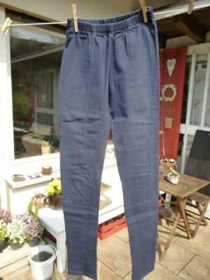Blaue Skinny Hose Legging Gr. XS