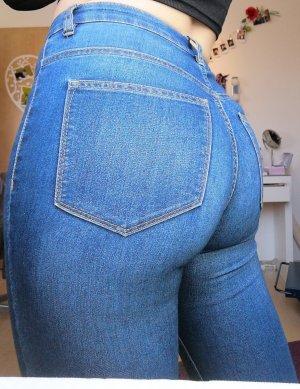 Blaue skinny jeans H&M