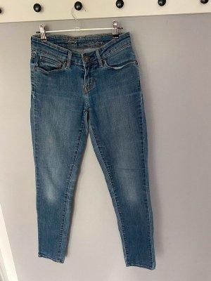 Blaue Skinny Jeans von Levi's, Gr. 25/32