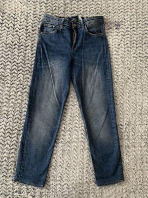 H&M Vaquero slim azul acero-azul aciano