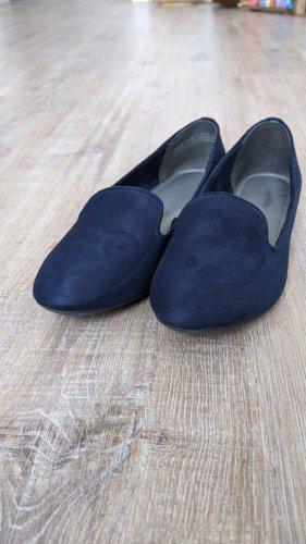 Marco Tozzi Pantoffels blauw-donkerblauw