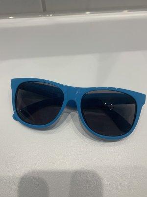 Blaue Sonnenbrille