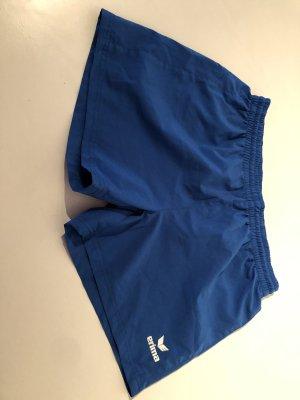 Blaue Sporthose