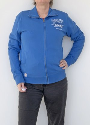 Esprit Sports Vests neon blue cotton