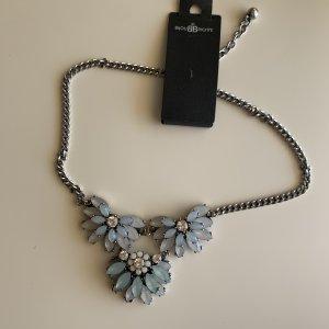 Blaue Statement-Kette Halskette von Bijou Brigitte NEU