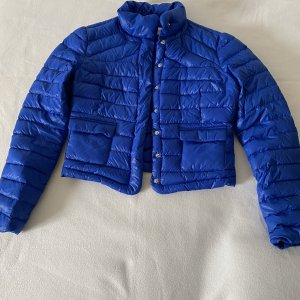 de.corp by Esprit Quilted Jacket blue