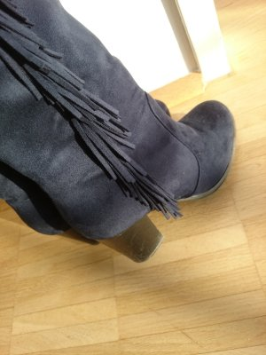 Blaue Stiefel Gr.38
