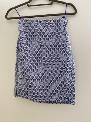 Street One Pencil Skirt blue-white