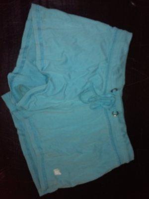 blaue stoff - shorts