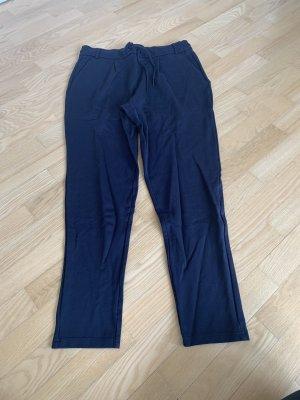 blaue Stoffhose