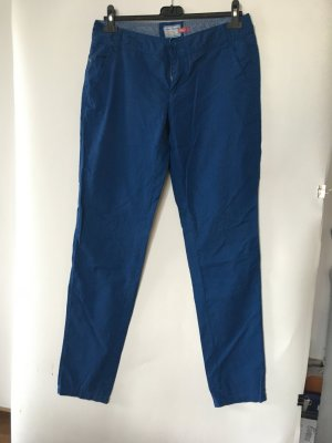 Urban Surface Five-Pocket Trousers steel blue polyester