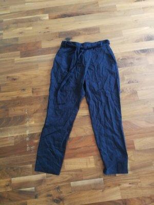 Armedangels Pantalon en jersey bleu-bleu foncé