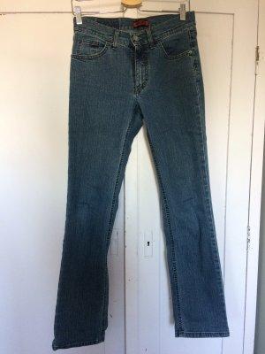 Angels Jeans met rechte pijpen blauw