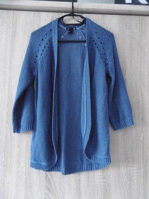 Blaue Strickjacke von H&M