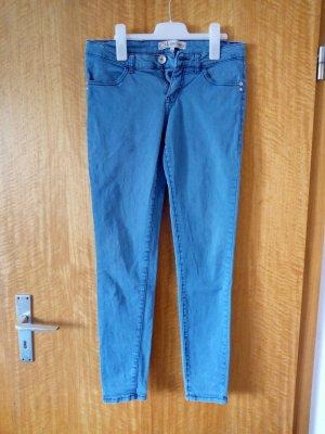 Blaue Super Skinny Jeans