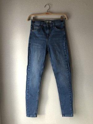 Blaue Topshop Jamie Jeans