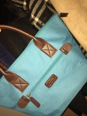 Minibolso azul claro