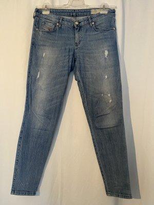 Blaue used Jeans von Diesel in 29
