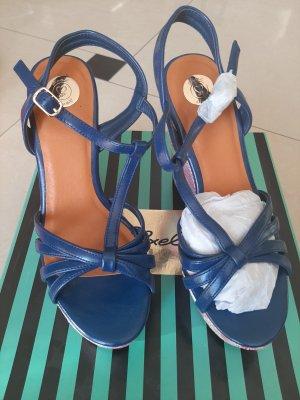 Axel Wedge Sandals multicolored mixture fibre