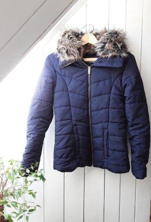 H&M Kurtka zimowa ciemnoniebieski