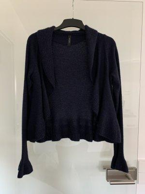 Blaue Wolljacke von MARCCAIN