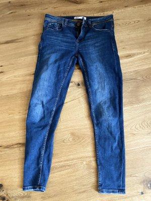 Blaue Zara Skinny Jeans