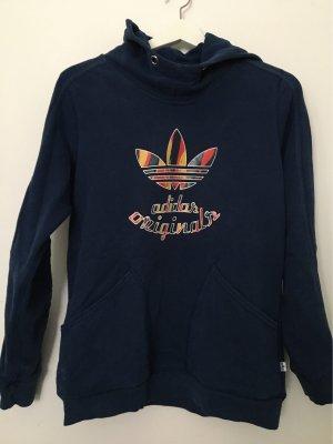 Blauer Adidas Originals Pullover