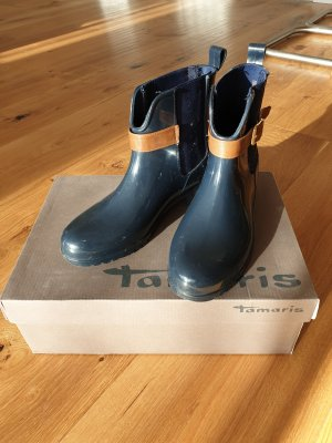 blauer Ancle Boot