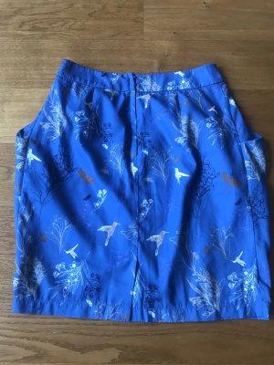Esprit Falda globo azul aciano