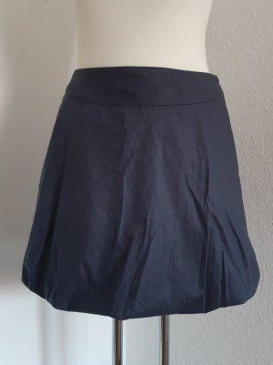Falda globo azul oscuro