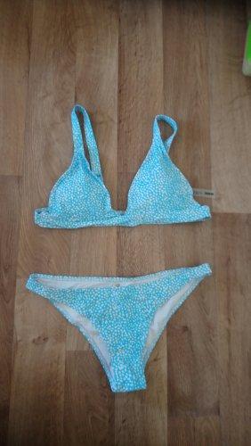 SheIn Bikini jasnoniebieski-niebieski
