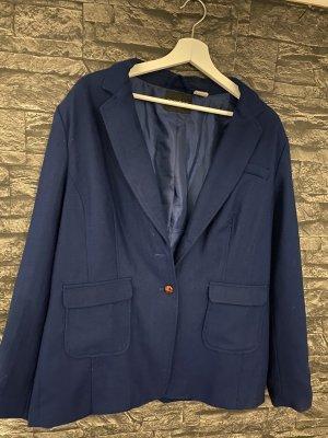 BODY FLIRT Blazer in lana blu