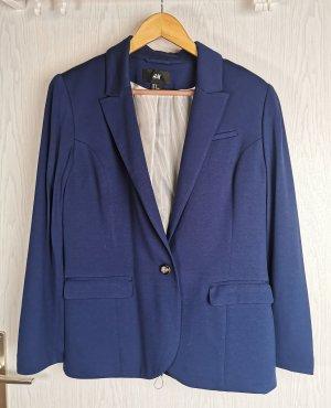 Blauer Blazer aus Viskose