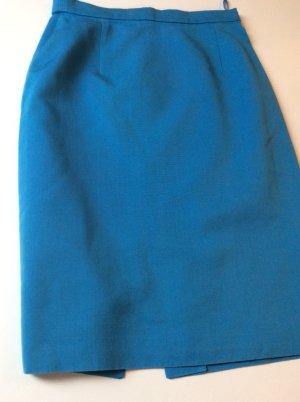 blauer Bleistiftrock von Louis Feraud