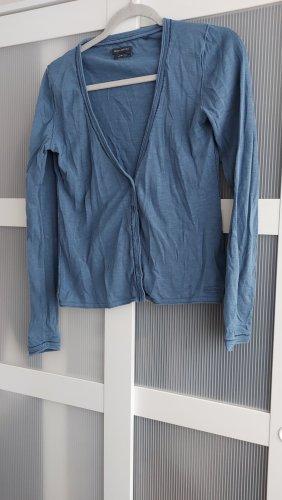 Marco Polo Cardigan gris ardoise-bleu acier