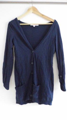 Tally Weijl Chaqueta estilo camisa azul oscuro-azul Algodón