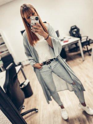 Blauer Cardigan Zara