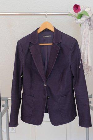 Esprit Blazer en tweed bleu foncé