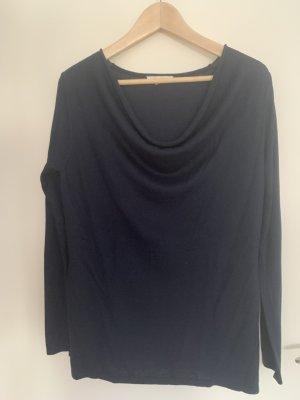 Esprit Cienki sweter z dzianiny ciemnoniebieski