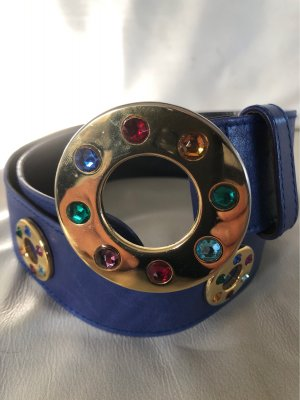 Escada Waist Belt gold-colored-blue