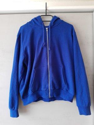H&M Pull à capuche bleu