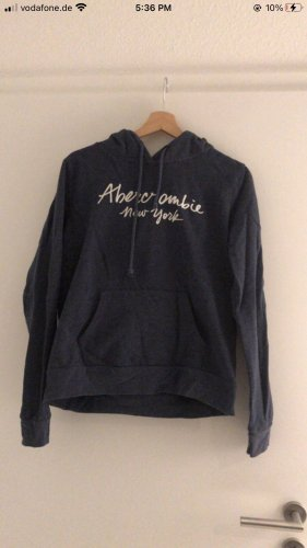 Blauer Hoodie Abercrombie&fitch