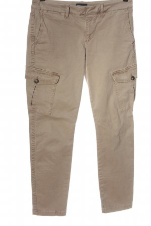 Blauer Jeans taille basse blanc cassé style décontracté