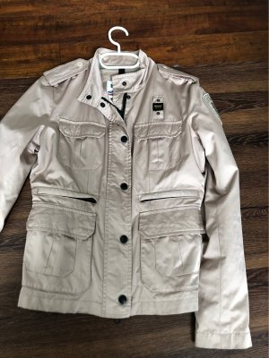 Blauer Giacca in pile beige-color cammello