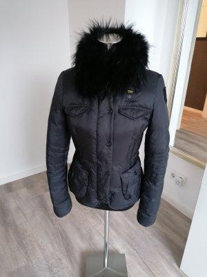 Blauer Giacca invernale nero